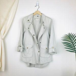 Elizabeth & James Bone Tan Kelsey Utility Jacket